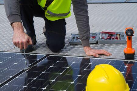 Photovoltaïques Banque d'images - 38160203
