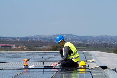 photovoltaic Standard-Bild