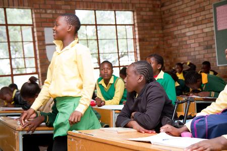 poor african: african school Editorial