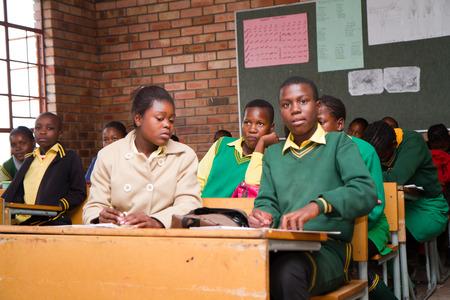 africa people: african school Editorial