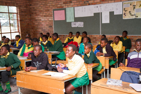 アフリカの学校