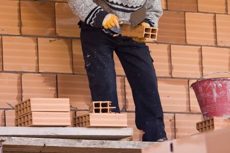 parapet wall: building Stock Photo