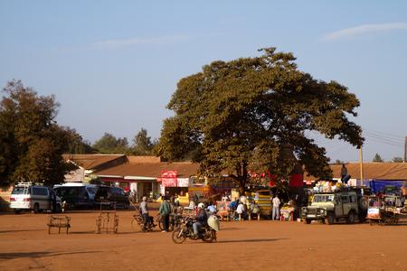 bust station in Karatu Tanzania