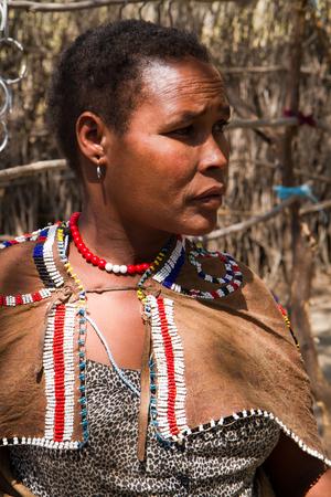 gatherer: datoga woman portrait