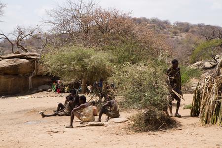gatherer: hadzabe tribe