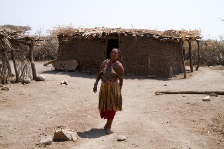 tribu: Datoga Mujer de la tribu