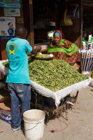 zanzibar: market place in zanzibar