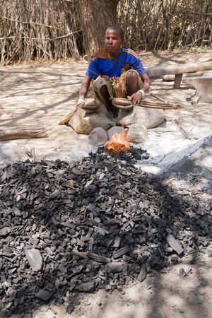 gatherer: datogra tribe very skillful to work the iron