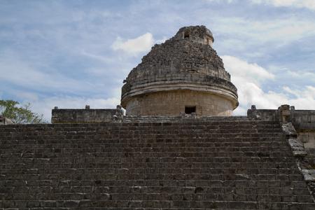 itza: chichen itza ruins in the south of mexico