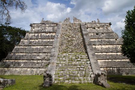 itza: chichen itza in south of mexico, yucatan Stock Photo