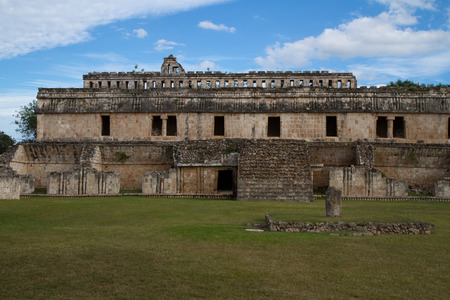 yucatan: uxmal ruins in south of mexico, yucatan Stock Photo