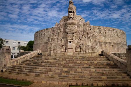 merida monument in mexico