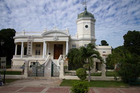 merida: merida old palace in mexico