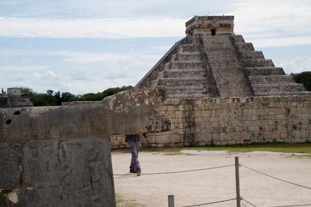 itza: chichen itza ruins in mexico Stock Photo