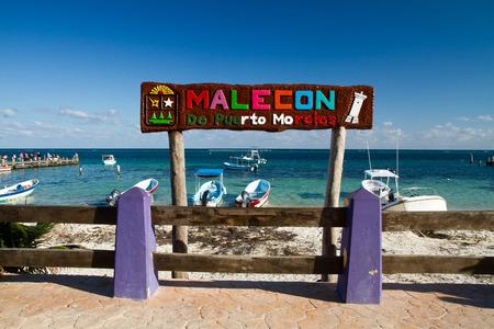 morelos: mexican riviera puerto morelos malecon