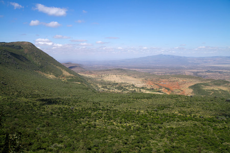 valley view: rift valley view from nairobi Stock Photo
