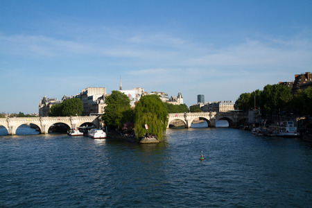 seine: seine river in paris