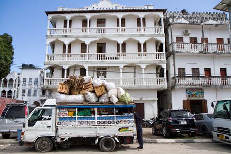 colonial building: colonial building in zanzibar