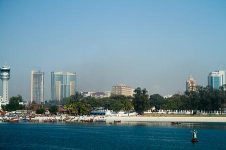 er: tanzania dar er salaam view Stock Photo