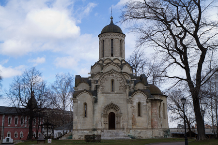 picture of the most ancient monastery of moscow