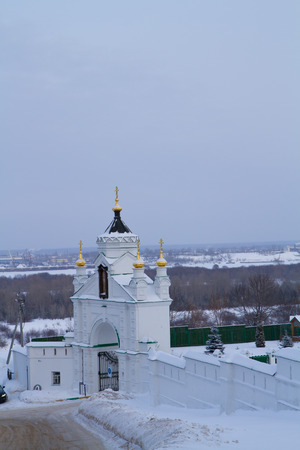 monastery of the ancient town of gorky Banco de Imagens