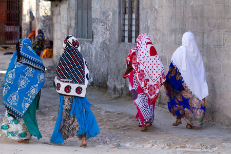 street images of the zanzibar people and place