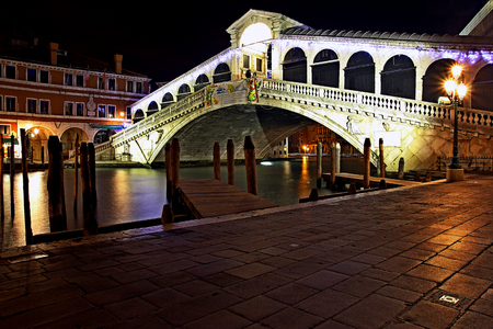 rialto bridge: Rialto Bridge Stock Photo