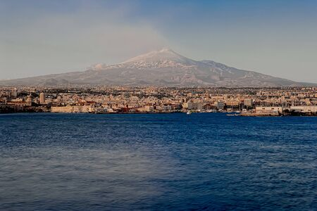 catania: Catania View Stock Photo