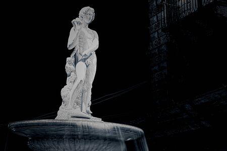 catania: Amenano fountain in Catania