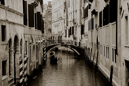 venice gondola: Venice Gondola Stock Photo