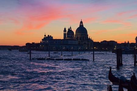 Basin of San Marco (Venice) Stock Photo