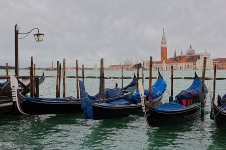 Gondola (Venice) Stock Photo