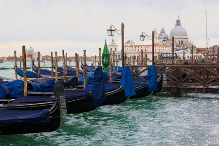 rialto: Gondola (Venice) Stock Photo