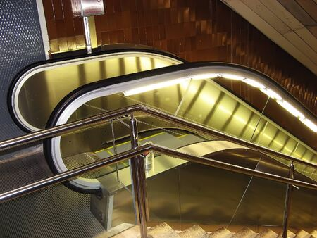 descend: Mechanical stairs at Barcelona underground
