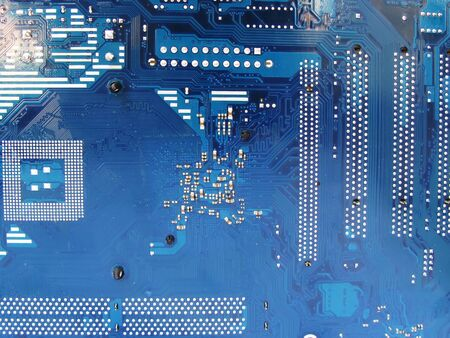 Abstract motherboard card background. New technologies photo
