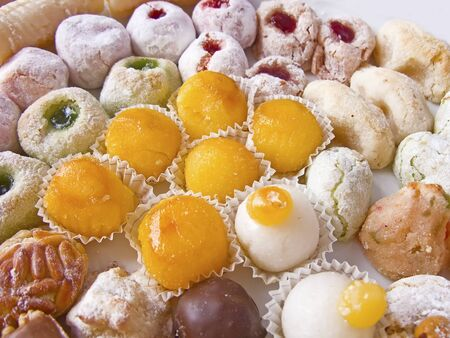 tasteful: Variety of tasteful cakes, well presented