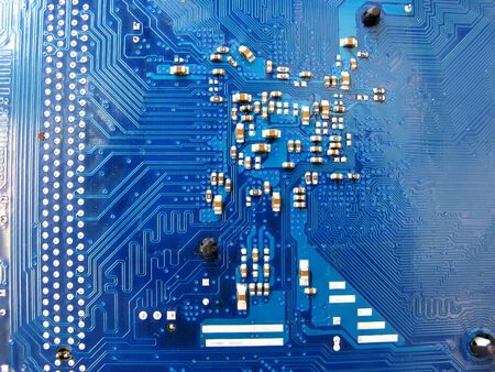 Abstract motherboard card background  New technologies photo