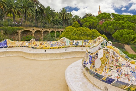 guell:  Representative of modernism architecture