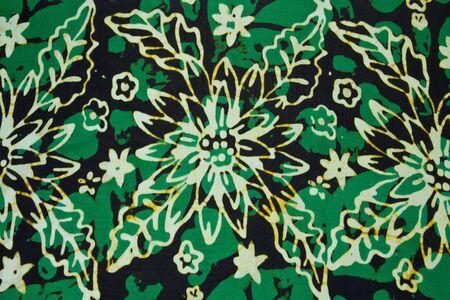 tela algodon: algod�n tela verde de fondo Foto de archivo