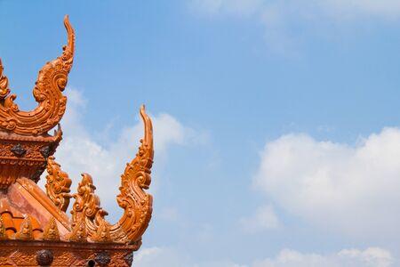 pagoda temple and blue sky