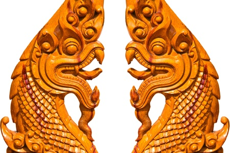 two statue king of nagas photo