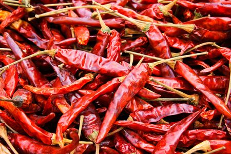 red chilli close up Stock Photo - 13395488