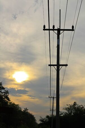 electric at sunrise