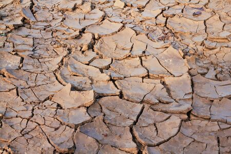 dry soil on earth