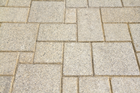 pavement pattern concrete blocks photo