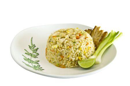 chicken fire rice