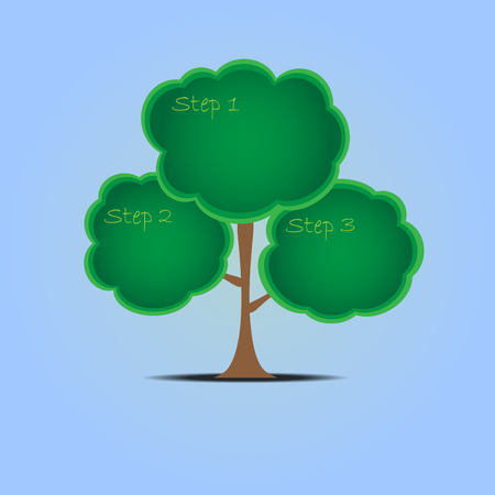 tree and space for text vector