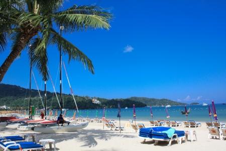 Patong beach  Phuket, Thailand