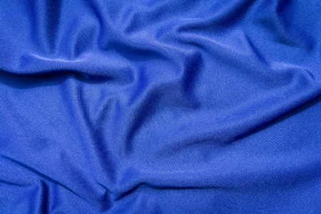 satiny cloth: Background of blue cloth texture