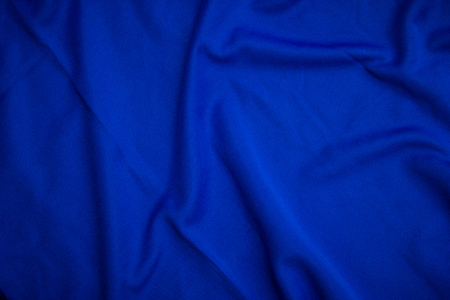 Blue cloth texture and background